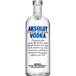 Absolut Vodka 1,0 Liter