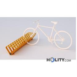 Zweiseitiger Fahrradständer für öffentliche Räume. h140_307