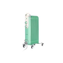 Klarstein Ölradiator Thermaxx Retroheat Ölradiator 2000W Bodenrollen