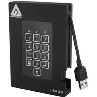 Apricorn Aegis Padlock Fortress 2TB USB 3.0 schwarz (A25-3PL256-2000F)