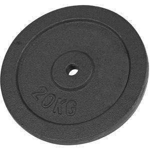 Hantelscheibe aus Gußeisen, Hantel, Gewichte, Stück: 20 kg