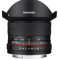 Samyang 12mm F2,8 Fisheye ED AS NCS