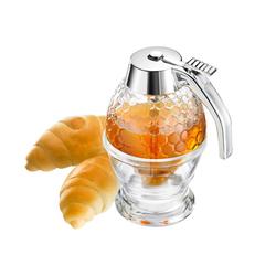 WESTMARK Honigglas Deluxe, Glas, Metall, (1-tlg)