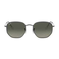 Ray-Ban Hexagonal RB3548N 004/71 Metall Hexagonal Grau/Grau Sonnenbrille, Sunglasses | 0,00 | 0,00 | 0,00