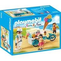 Playmobil Family Fun Fahrrad mit Eiswagen 9426
