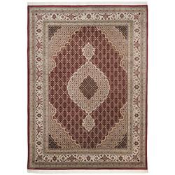 Teppich Sirsa Mahi Tabriz (Rot; 250 x 300 cm)