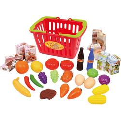Playgo Spiel-Einkaufswagen Einkaufskorb, gefüllt