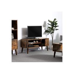 VASAGLE TV-Regal LTV09BX, Fernsehtisch, Fernsehschrank, vintage
