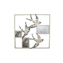 NTK-Collection Wanddekoobjekt Wanddeko mit Bilderrahmen Schwalbe