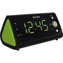 Karcher UR1040-G Uhrenradio - grün