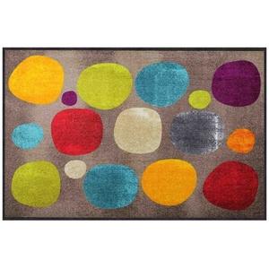 Fußmatte Salonloewe Broken Dots Colourful Fußmatte 115 x 175 cm Schmutzfangmatte waschbar, Salonloewe