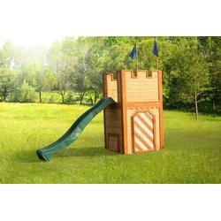 Axi Spielturm Arthur mit Rutsche, Holz