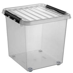 sunware Aufbewahrungsbox 38,0 l transparent 40,0 x 38,0 x 39,0 cm