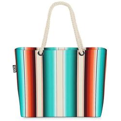 VOID Strandtasche (1-tlg), Serape Stripes Beach Bag mexikanisch decke Navajo Stoff lateinisch ethnisch