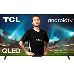 TCL 75C722X1 QLED-Fernseher (190,5 cm/75 Zoll, 4K Ultra HD, Android TV, Smart-TV, Android 11, Onkyo-Soundsystem)