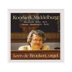 Leen De Broekert - BUXTEHUDE,BOHM & BACH (CD)