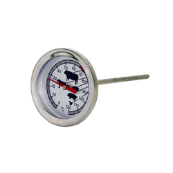 Excellent Backofenthermometer Fleischthermometer Bratenthermometer Grillthermometer Backofenthermometer analog, 1-tlg.
