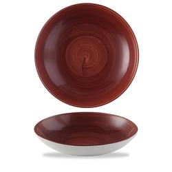 12 x Schale rund 24,8cm STONECAST PATINA Red Rust