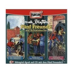 Fünf Freunde Box 03: auf Schatzsuche - (CD)