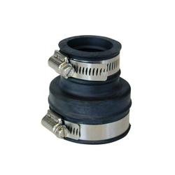 RUG Verbinder Rohrverbinder Gummi Rohrmuffe Gummimuffe Flexmuffe Rohr Muffe Reduziermuffe 40-50 zu 53-63, (1-St), witterungs- und UV-Licht-beständig