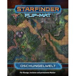 Starfinder Flip-Mat: Dschungelwelt