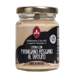 Calugi Parmigianocreme mit Trüffel - Trüffelcreme verfeinert mit Parmesankäse...