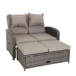 greemotion Bahia Rondo Loungesofa braun