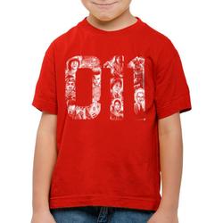 style3 Print-Shirt Kinder T-Shirt Eleven 11 demogorgon elfie dustin rot 116