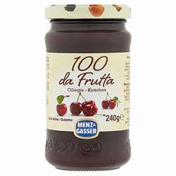 Menz und Gasser 100 da Frutta Ciliegie Kirsche Aufstrich 240g