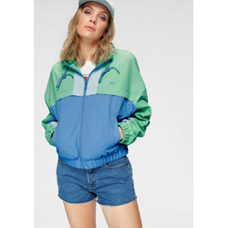 Levi's® Windbreaker Celeste Windbreaker im Retro- Look grün XS (32)