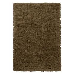 Meadow Teppich langflorig 200 x 300 cm Dark Beige Ferm Living