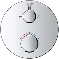 GROHE Grohtherm Thermostat-Wannenbatterie mit 2-Wege-Umstellung