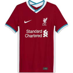 Nike Liverpool FC 2020/21 Stadium Home - Kinder Red/White L