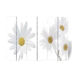 vidaXL Raumteiler vidaXL Raumteiler klappbar 240 x 170 cm Blume