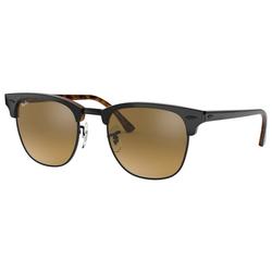 RAY BAN Sonnenbrille CLUBMASTER RB3016 grau L