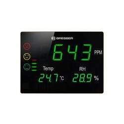 BRESSER BRESSER CO2-Messgerät Smile XXL mit Ampel und extr Funkwetterstation