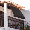 Strattore Klemmmarkise / Balkon Sonnenschutz in verschiedenen Ausführungen und Farben, Model: 200x120 cm - Beige