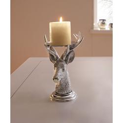 HomeLiving Kerzenhalter Hirsch