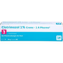CLOTRIMAZOL 1% Creme-1A Pharma 50 g