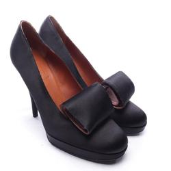 Lanvin Damen Pumps schwarz, Größe 38.5, 4912220