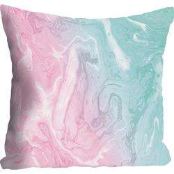 Kissenhülle Pearl, queence (1 Stück), mit Pastellfarben