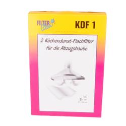 Küchendunst-Flachfilter KDF 1, für die Abzugshaube, 1 Packung = 2 Stück