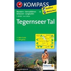 Kompass Karte Nr. 08 Tegernseer Tal 1:25.000
