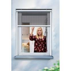 Schellenberg Insektenschutzrollo für Fenster, 130 x 160 cm, weiß
