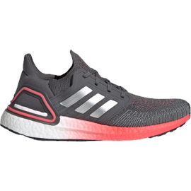 adidas Ultraboost 20 W grey five/silver metallic/signal pink/coral 38 2/3