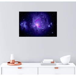 Posterlounge Wandbild, Orionnebel M 42 mit Running Man Nebel 100 cm x 70 cm