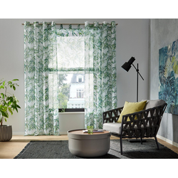 Gardine Bambus, my home, Ösen (1 Stück) 140 cm x 295 cm