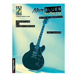 More Blues You Can Use  m. Audio-CD. John Ganapes  - Buch