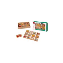 Janod Spiel, Gedächtnisspiel Memo 40 Teile, Holz