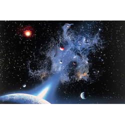 Papermoon Fototapete Universum, glatt 4 m x 2,6 m
